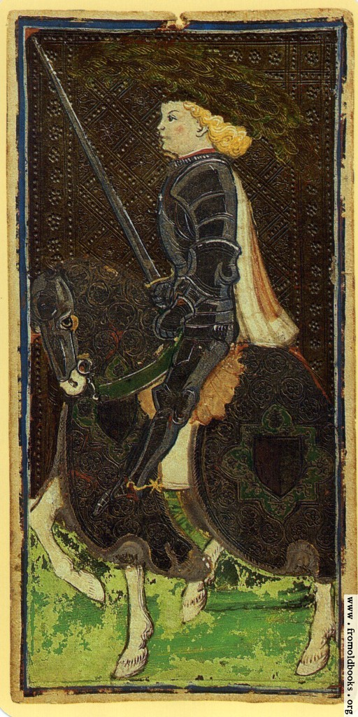 [Picture: Knight of Swords.]