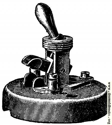 [Picture: Fig. 69.—Showing Internal View of Tumbler Switch.]