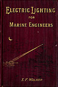 [picture: Front cover from Electric Lighting for Marine Engineers]