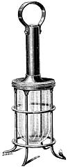 Fig. 61.—Guarded Portable Lamp Fitting.