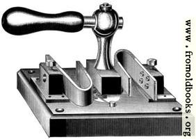 [picture: Fig. 72.---Author's Main Switch---Bent Spring Pattern.]