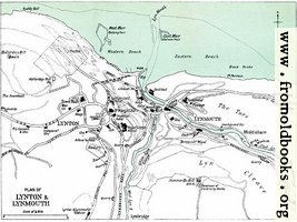 [picture: Plan of Lynton & Lynmouth [1910]]
