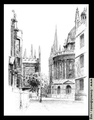 [Picture: III.—View in Radcliffe Square]