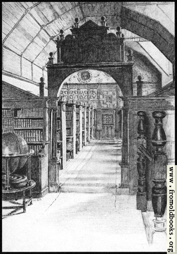 [Picture: VII.—Merton College: The Library Interior]