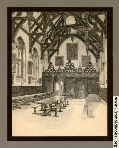 [Picture: XXIV.—Wadham College, The Hall Interior]