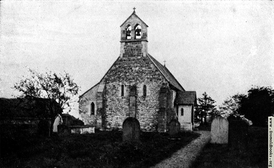 [Picture: Austerfield Church]