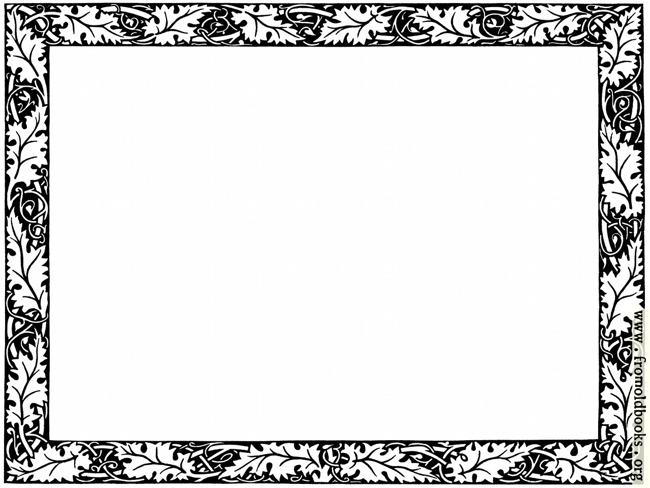 [Picture: Leafy Border from page 501]