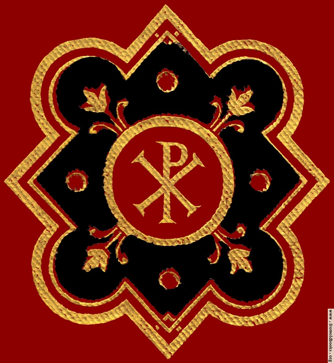 Chi rho symbol px in red black ad gold from front cover 1077x1169 250k jpg free download buycottarizona