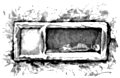 [Picture: Fig. 41.—Un loculus ouvert. (A loculus, or Roman tomb, open.)]