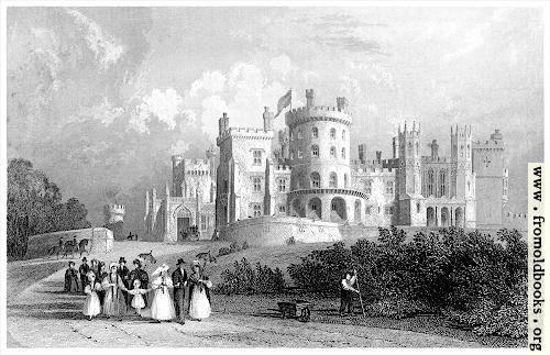 [Picture: South Front of Belvoir Castle, Leicestershire]