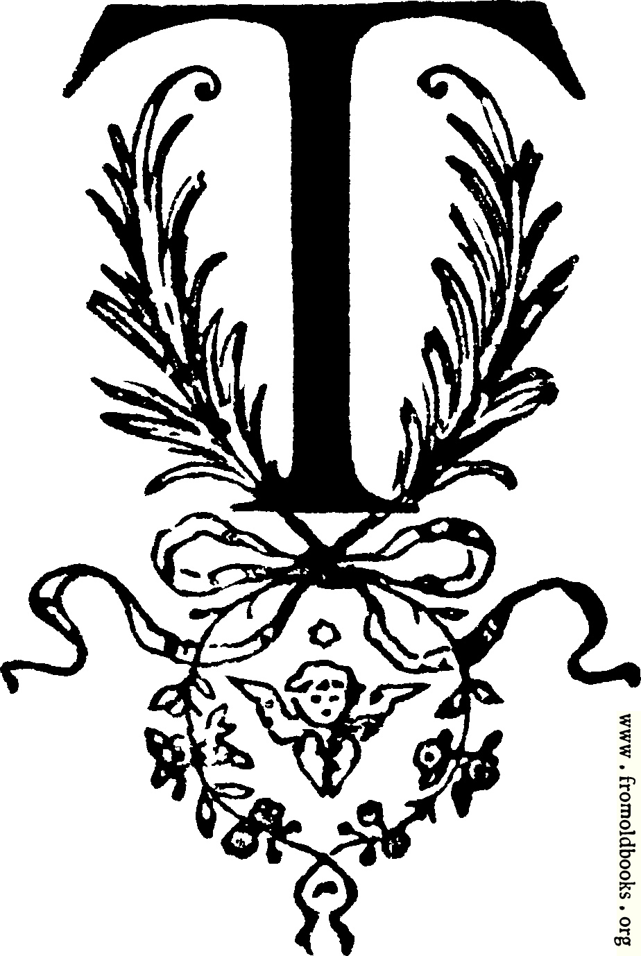 """[Picture: Decorative initial letter 'T""""]"""