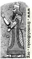 An Assyrian King.