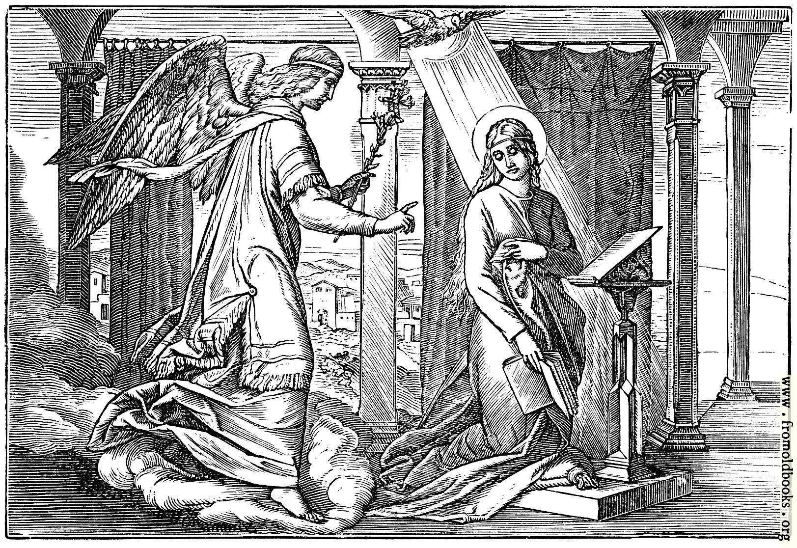 [Picture: The Angel Appears Unto Mary.]