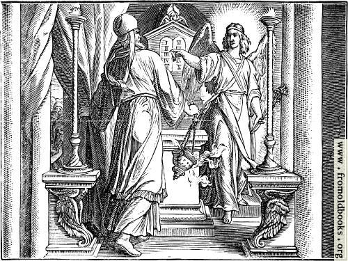 [Picture: The Angel Appears Unto Zacharias.]