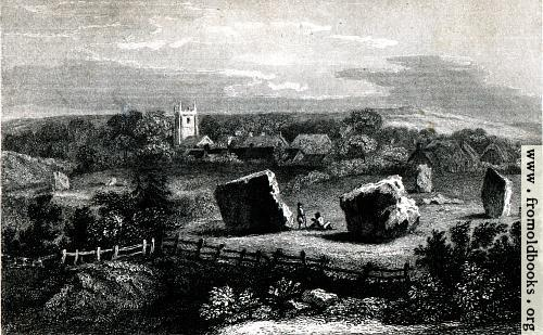 [Picture: Druidical Temple, Avebury]