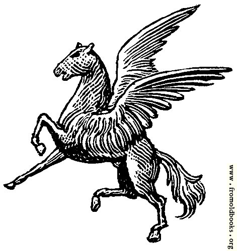[Picture: Winged horse from heraldic shield]