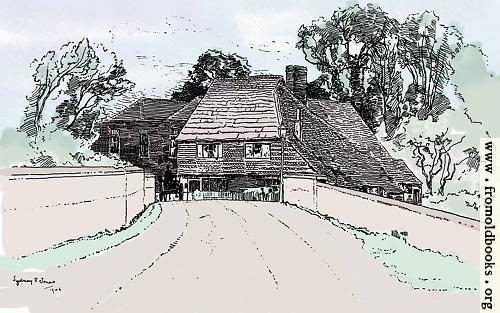 [Picture: Chiddingfold, Surry (hand-coloured version)]