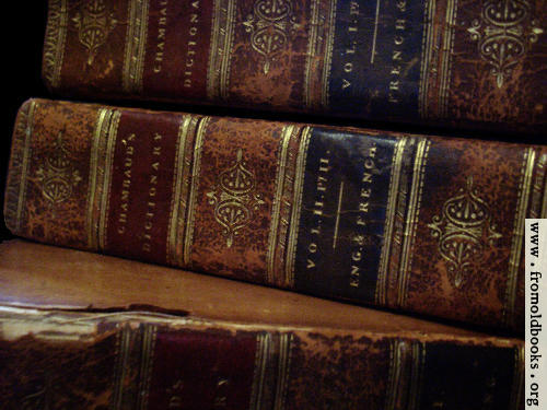 [Picture: Old Books 3: Chambaud Close-up]