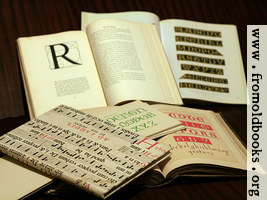 [Picture: Alphabet Book Pile]