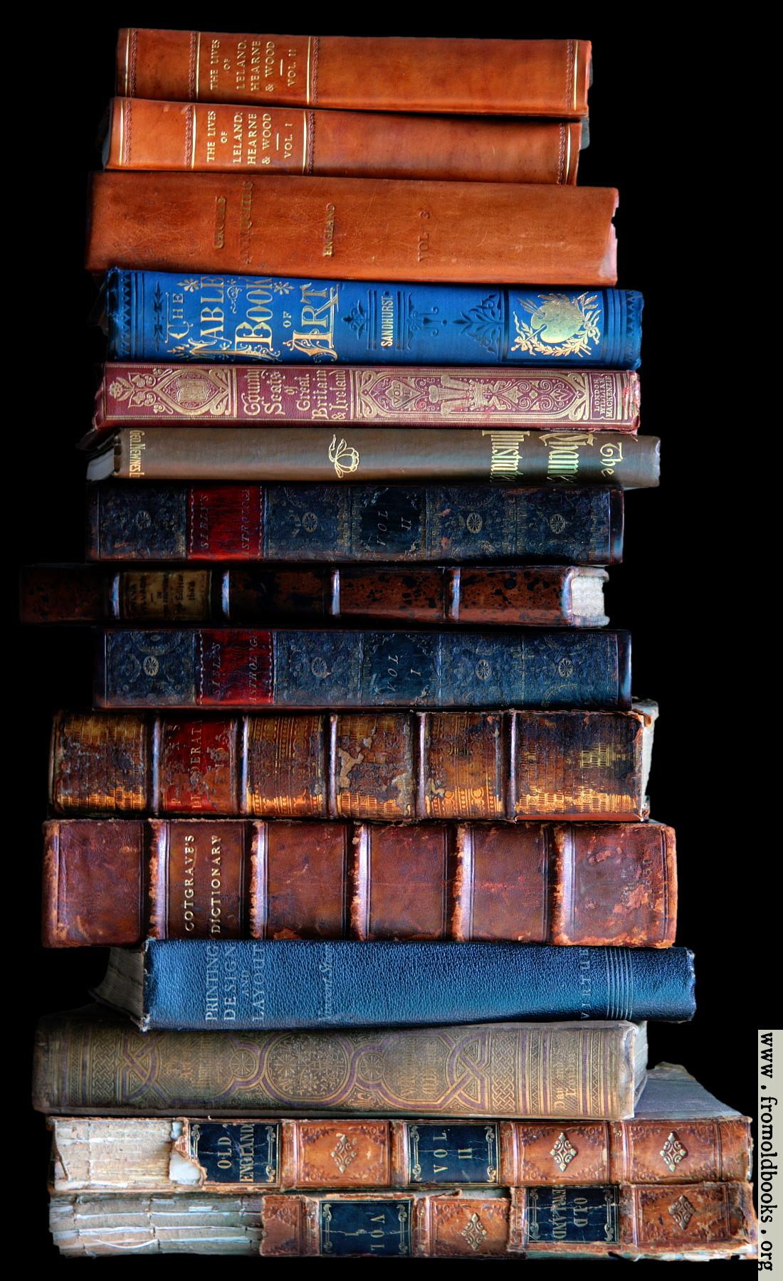 Img 7378 Stack Of Books Dark Background