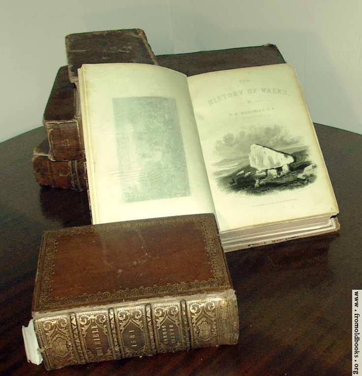 [Picture: Antique Books: Woodward]