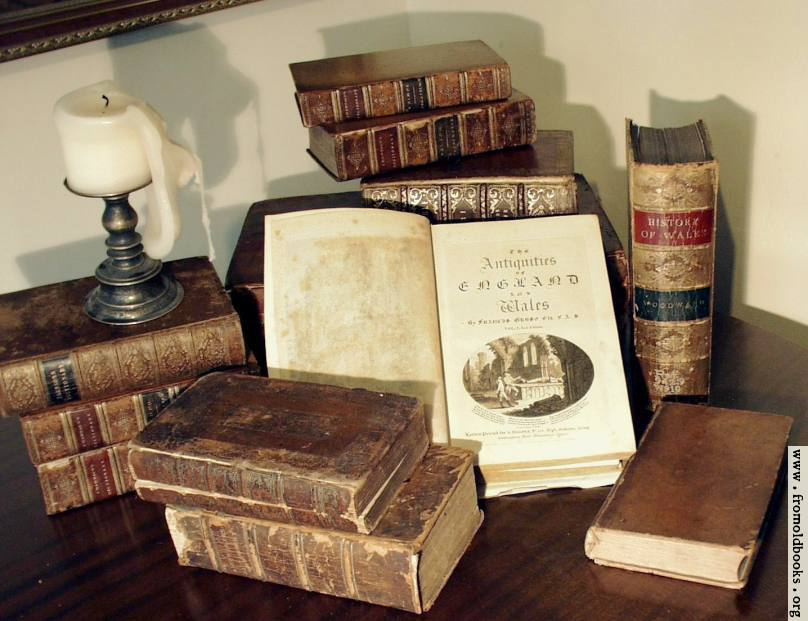 [Picture: Antique Books: Grose]