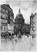 Frontispiece: St. Paul's Catheral from Cheapside.